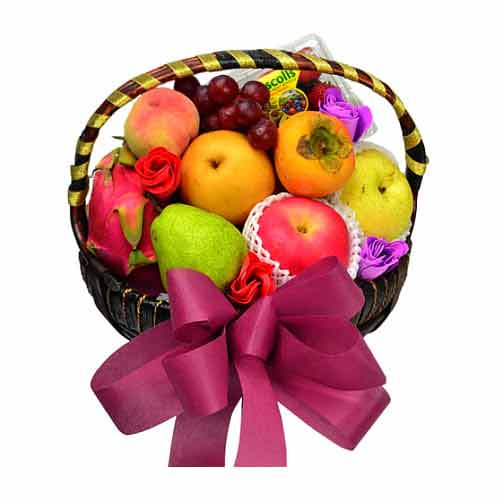 Freshly-Harvest Seasonal Fruits Gift Hamper