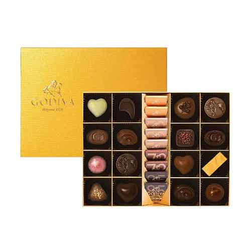 Godiva Gold Collection 25pcs