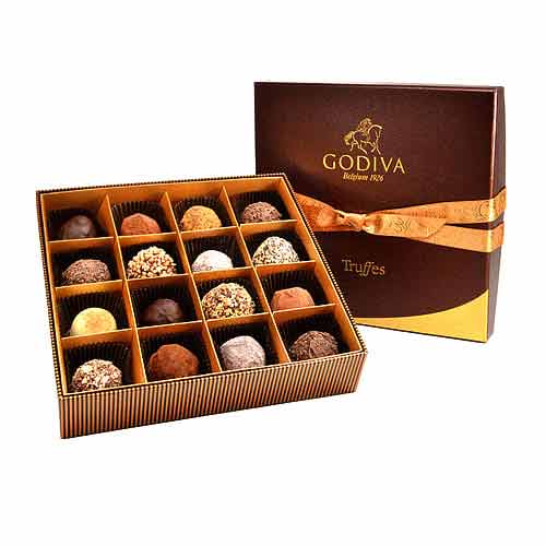 Delicious Godiva Signature Chocolate Truffles Collection