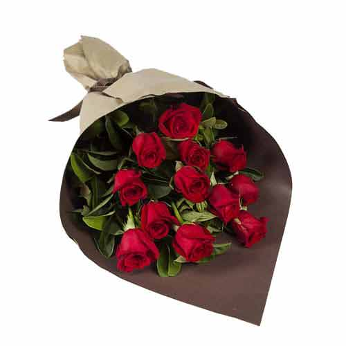 Fashionable Kenyan Roses Bouquet for Valentines Day