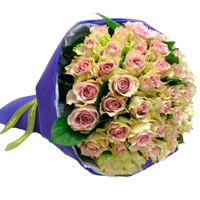 Romantic 50 Kenyan Roses in Great Style for Valentines Day