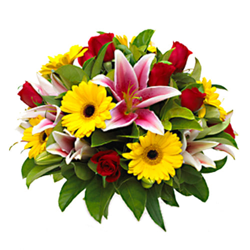 Gorgeous Bouquet of Fresh Seasonal Flowers