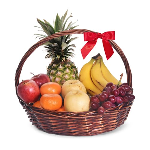 Mother Natures Refreshing Treat of Fruit Basket