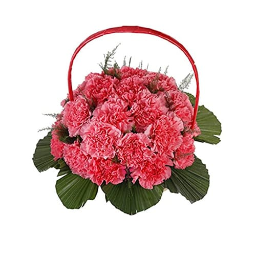 Luxurious Perfect Elegance Carnations Arrangement