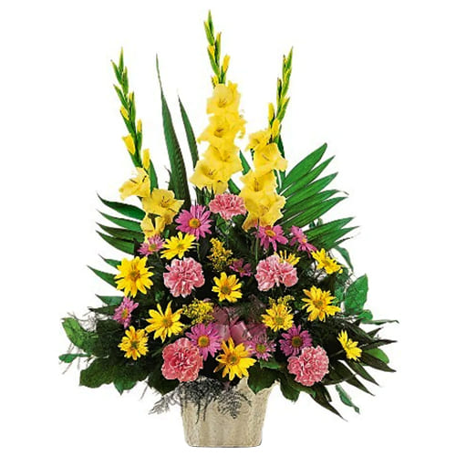 Flowering Bouquet of Seasonal Flowers