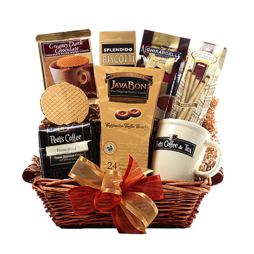 Set the party alive with delectable Coffee Break Gift Hamper