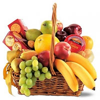 Bountiful Gourmet Fruit Basket
