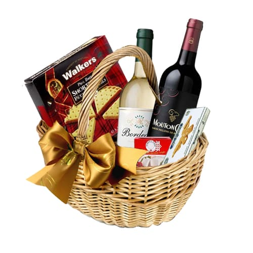 Alluring Party Time Wine N Assortments Gift Hamper