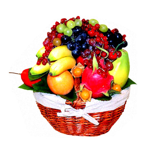 Delicious Fresh Fruits Large Basket