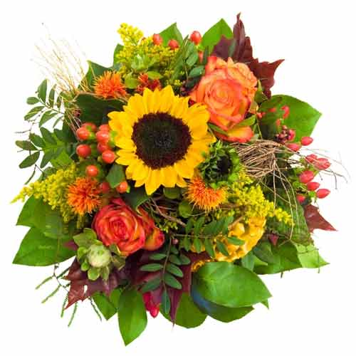 Stunning Multicolored Flower Bouquet