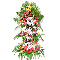 Triple Deck Flower Arrangement