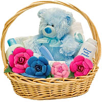 Classy and Lovely Plush Basket