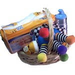 Classy Baby Hamper full of Toys with Other Products<br><br>