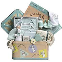 Affectionate Baby Gift Basket Hamper with Love