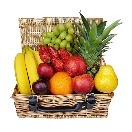 Fresh-Picked Vibrant and Delicious Fruit Hamper