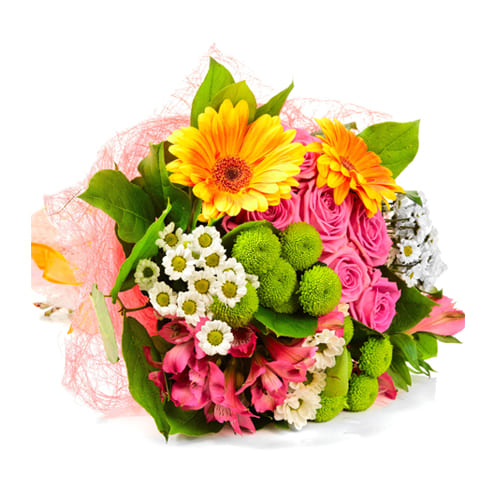Mixed Seasonal Flowers  Bouquet