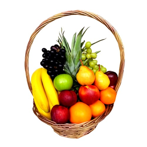 Tangy Dynamically Mixed Big Fruit Basket
