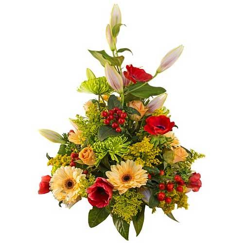 Pretty Flowers Arranged with Style