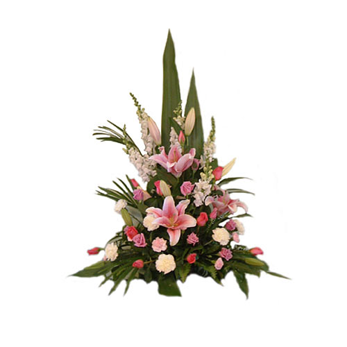 Dazzling Bouquet of Flowers with Passion