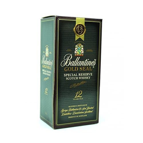 Outstanding Ballantines 12 Years Gold Seal Scotch