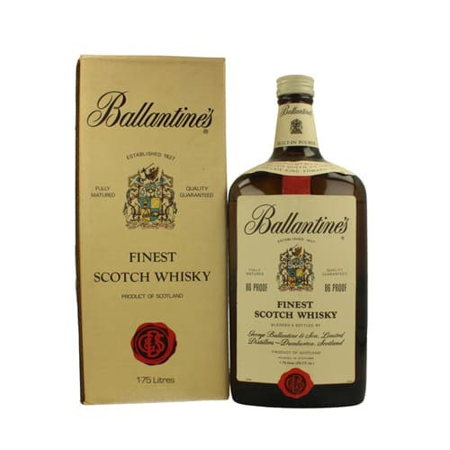 Versatile Gift of Ballantines Scotch