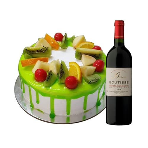 Remarkable Celebration Special Mixed Fruit Cake with Wine
