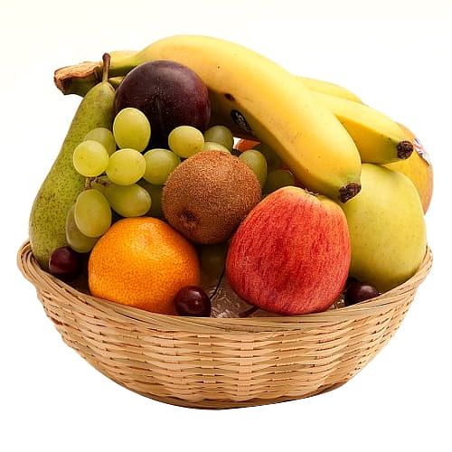 Intense Love You Forever Fruit Basket