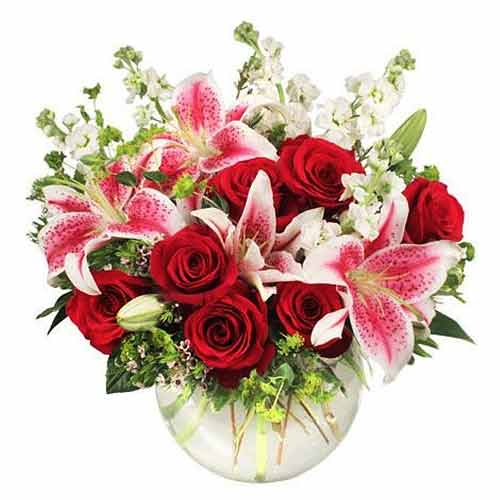 Ravishing  Seasonal Flowers Bouquet